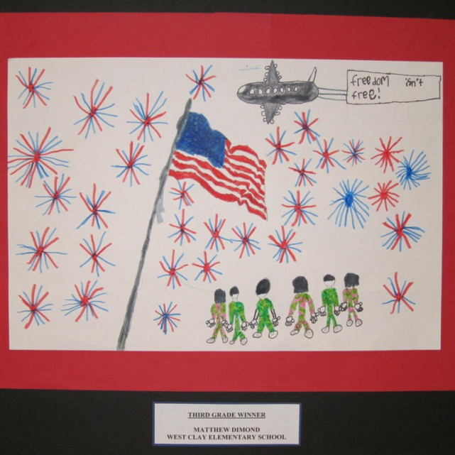 2012 Veterans Day Poster Contest Winners City Of Carmel