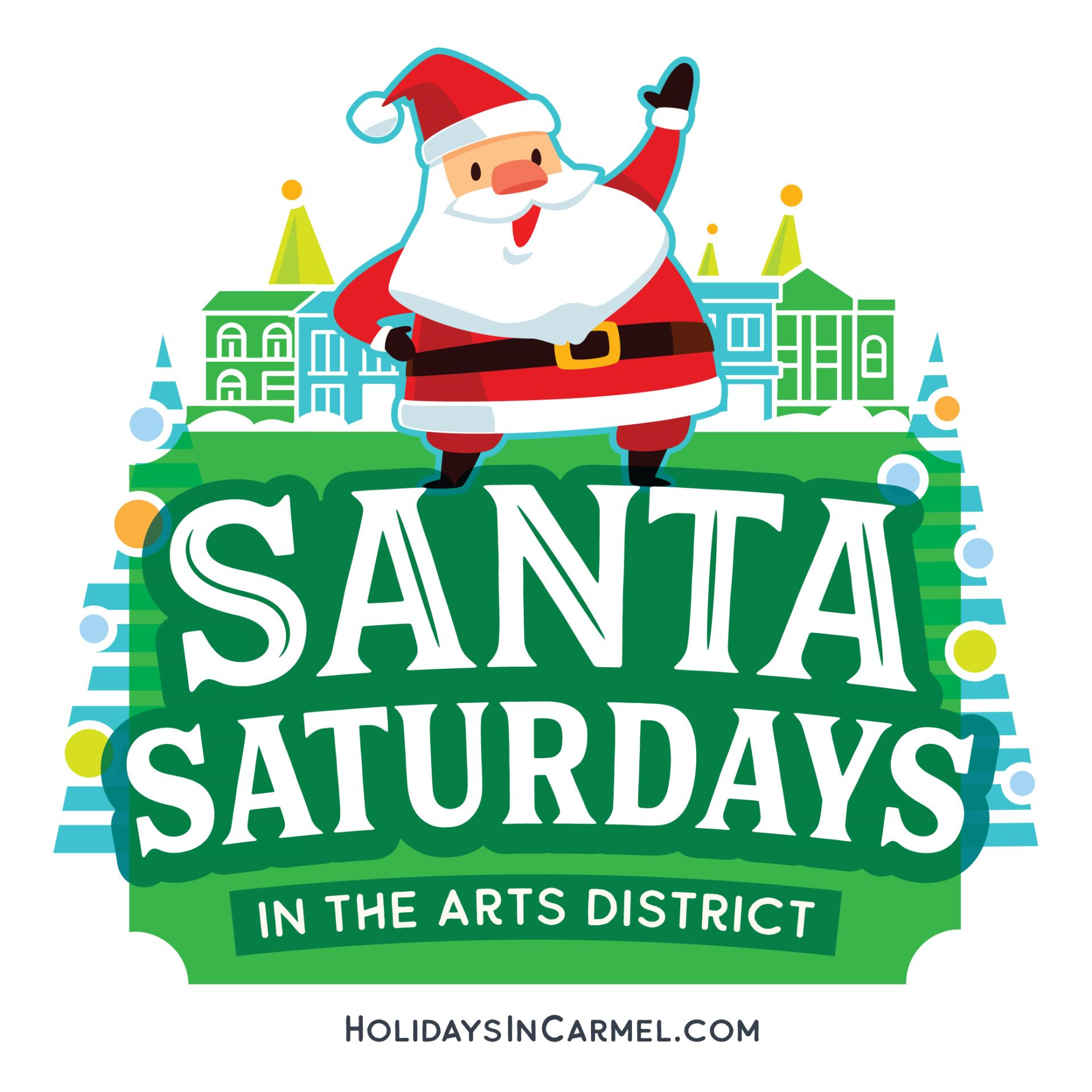 Carmel Santa Saturdays 2019